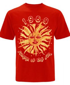 1969 Summer Of The Sun T shirt