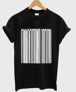 Alexsader Wang T Shirt