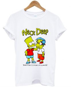 Neck Deep Simpson T Shirt