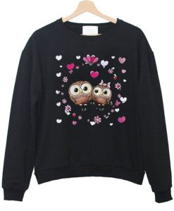 Owl Couple Love Sweatshirt