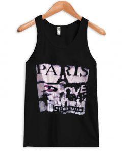 paris love metropolitain tank top
