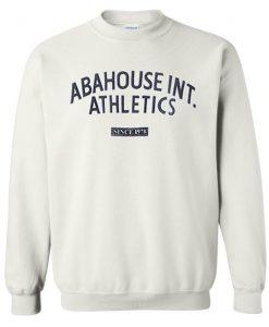 Abahouse international athletics sweatshirt
