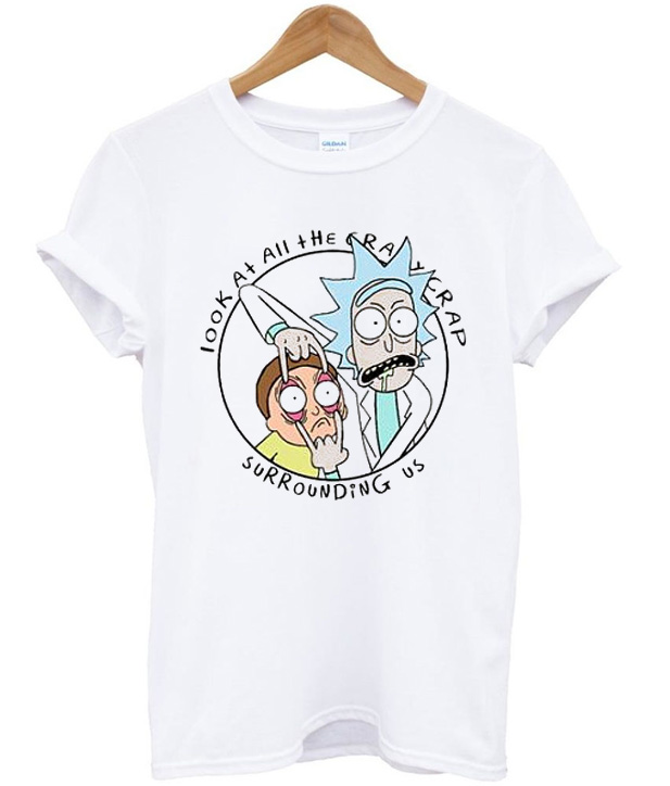 44ad2c45 Crazy Shit Rick & Morty T-Shirt