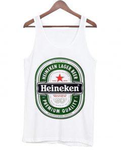 Heineken lager beer heineken premium quality Tanktop