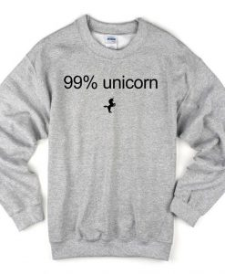 99% Unicorn Sweatshirt