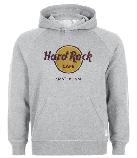 Cafe Hoodie Amsterdam Rock Hard Rock Hard Cafe OZuTiPkX