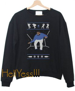 1-800 Hotline Bling Ugly Christmas Drake Sweatshirt