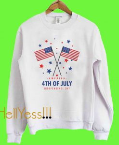 4th Of July Independence Day Sweatshirt