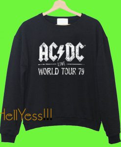 ACDC Live World Tour 79 Sweatshirt