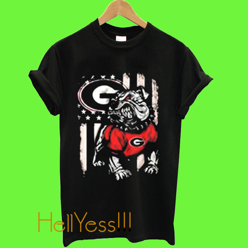 check out 58561 34ce9 Cool Georgia Bulldogs football T Shirt