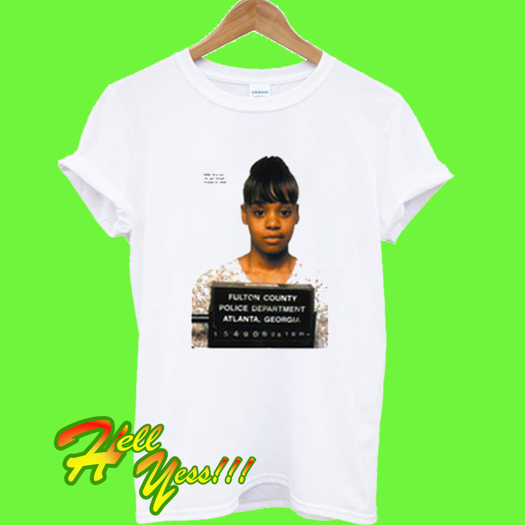 Lisa Lopes Mugshot T Shirt
