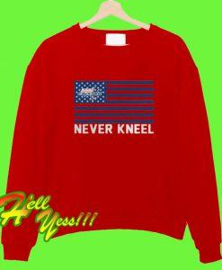 Washington Capitals Never Kneel Sweatshirt