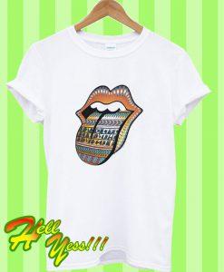 1997 Rolling Stones Big Tongue Concert T Shirt