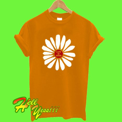 Life-Is-Good-Daisy-T-Shirt
