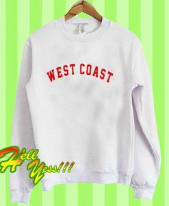 West Coast white Sweatshirt