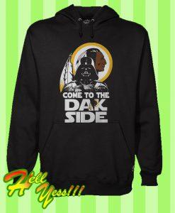 Washington Redskins Come To The Dark Side Darth Vader Hoodie