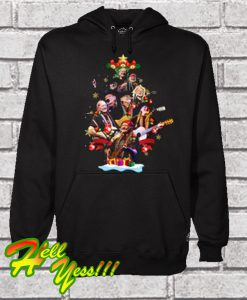 Willie Nelson Christmas Hoodie