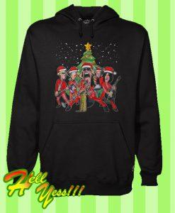Aerosmith Band Christmas Hoodie