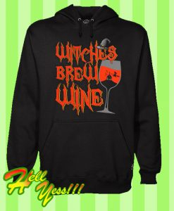 Witches Brew Wine Hoodie