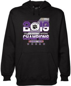 2019 college football National champions Clemson Tigers Hoodie
