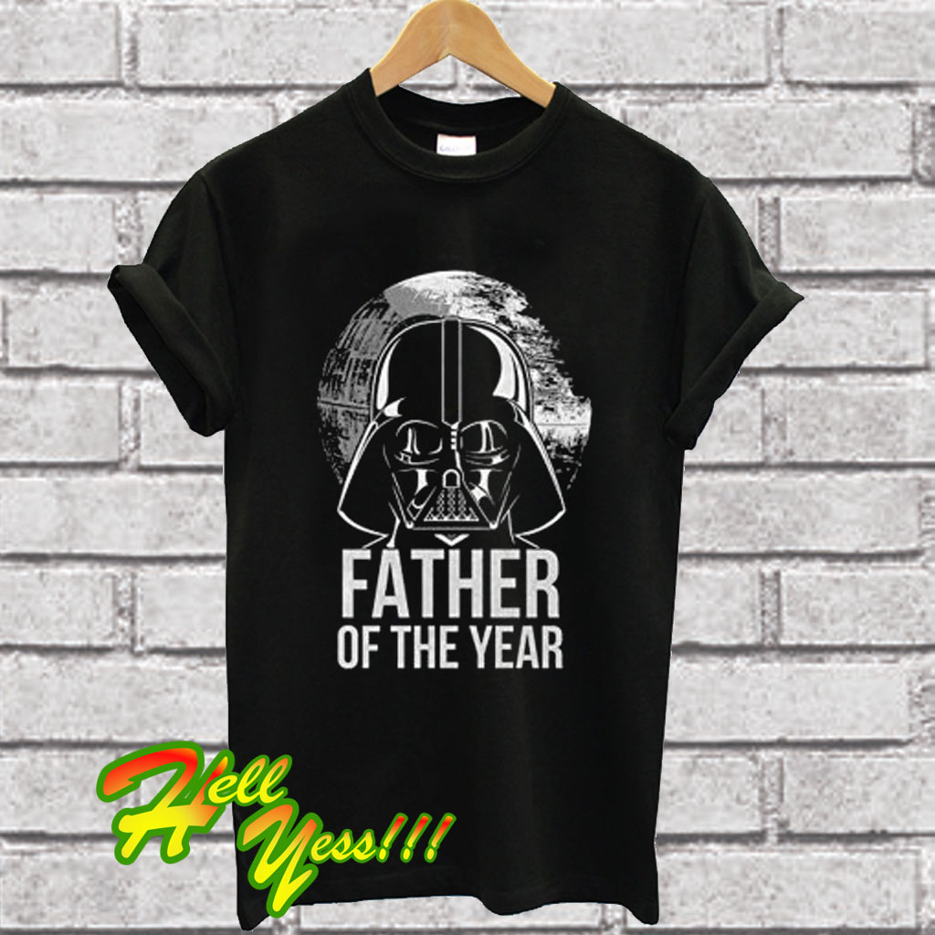 9d17a4fc3 Star Wars Men's Darth Vader Father of The Year T Shirt
