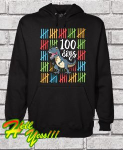 100 Days Smarter School Party 100th Day of School School Hoodie