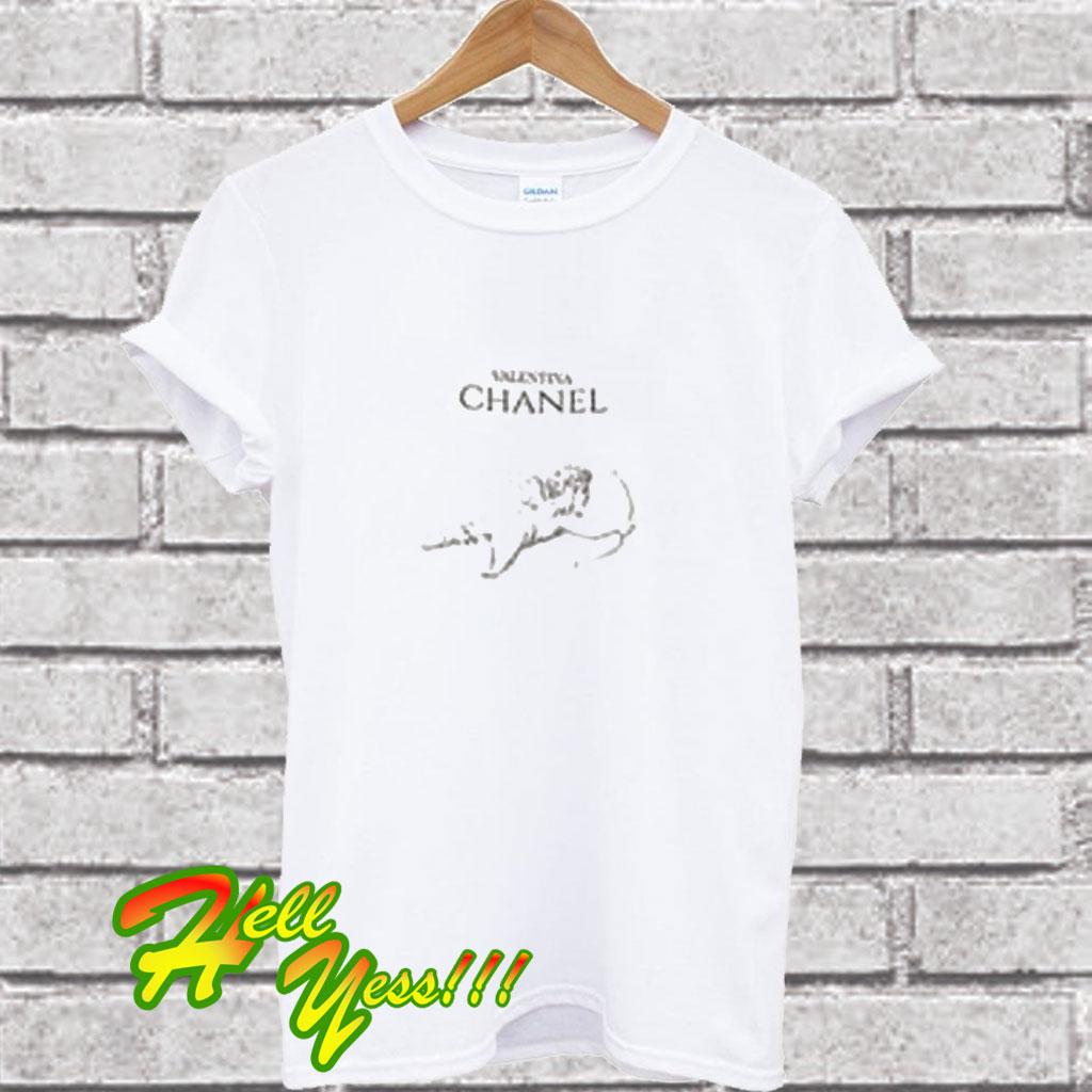 hot sale online d4d10 7a378 Valentina Chanel T Shirt