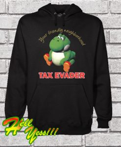 Yoshi the Tax Evader Hoodie