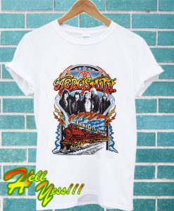 Aerosmith Train Kept a Rollin T Shirt