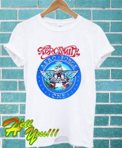 Wayne's World Garth Aerosmith T Shirt