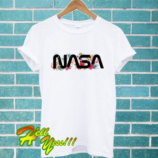 Tropical Nasa T Shirt
