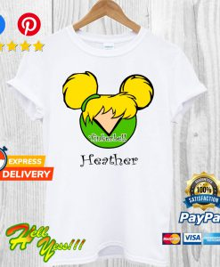 Tinker Bell Mickey And Minnie T Shirt