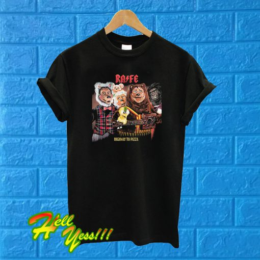 Highway To Pizza Rock Afire Explosion T Shirt