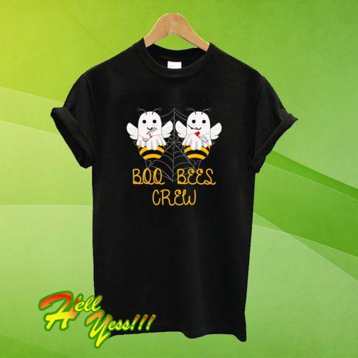 Boo Bees Crew Funny Nurse Halloween T Shirt