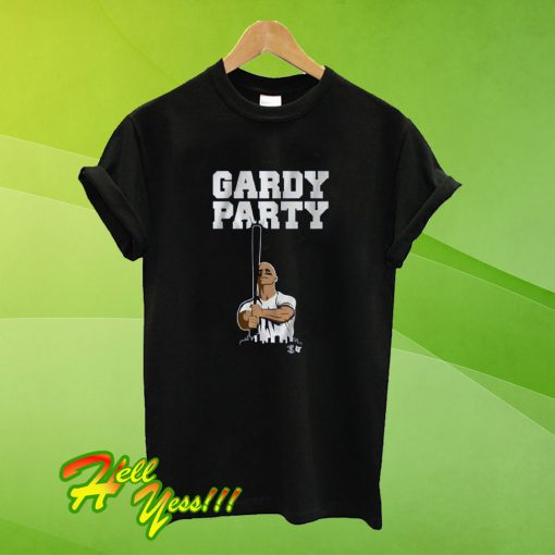 Stand By Brett Gardner With A Gardy Party T Shirt