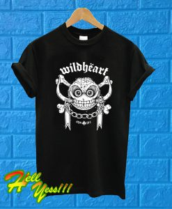 The Wildhearts For Life T Shirt