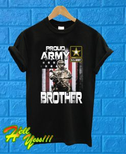 Proud Army Brother T Shirt