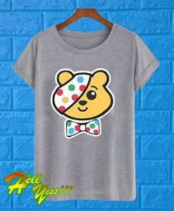 Super Hero Pudsey Bear T Shirt