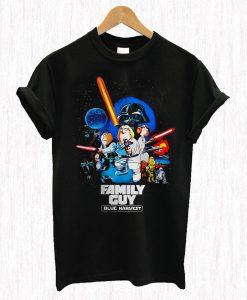 Star Wars family guy Blue Harvest T Shirt