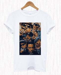 Outta Compton Team Rapper T Shirt